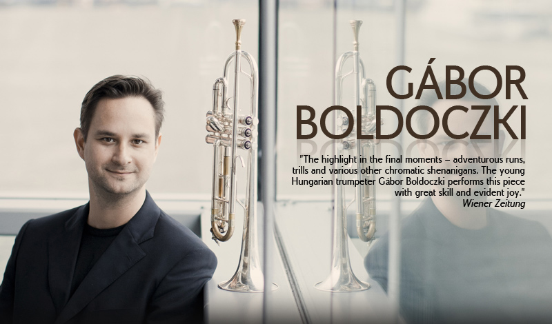The Hungarian Gábor Boldoczki with his brilliant play is the exceptional trumpeter of his generation.